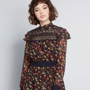 Anna Sui Midi Dress